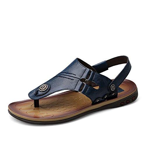 Classico Infradito Vacanze alla Cinturino con Estate Blu Caviglia Sandali Mare Uomo SHxqwSAOr
