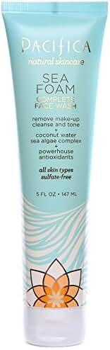 Pacifica Beauty Sea Foam Complete Natural Face Wash, 5 Fluid Ounce