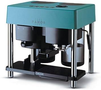 Gaggia – Cafetera espresso y portafiltros Paros turquesa: Amazon ...