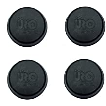 Corvette Jack Puck Pads SNAP IN Support Lift Set of 4 Pads Fits: All C5 C6 C7 1997 and Newer Corvette's (See Description for Limits for the C6 ZO6 + ZR1) by MIDWEST CORVETTE