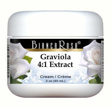Extra Fort Graviola (corossol) extrait 4:1 Cream - 2 oz - ZIN: 5 ...