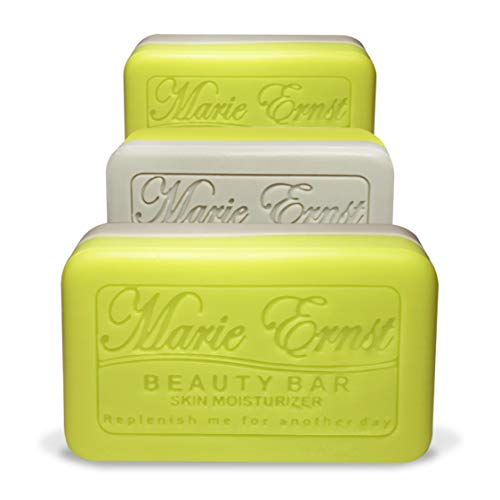 (Marie Ernst Pumice Exfoliating Bar Soap with Shea butter, Olive Oil with Hints of Lemon Verbena - Vegan Bath Soap for Men and Women That Delivers the Ultimate in Luxurious Bathing and Relaxation)