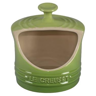 Le Creuset Stoneware 10-Ounce Salt Crock, Palm