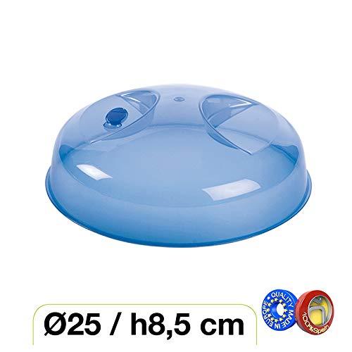 Haltra Tapa con válvula para microondas (25 x 8,5 cm) Azul: Amazon ...