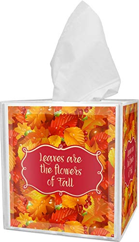 RNK Shops Fall Leaves Tissue Box Cover