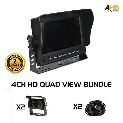 - Ares Vision Vehicle Monitor Back up & Security Camera System for Trucks, Buses, Vans (9