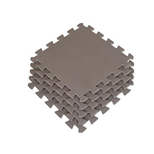 Alfombrilla de espuma EVA, 9 alfombras para niños para jugar al trapo de bebé, gris, free size