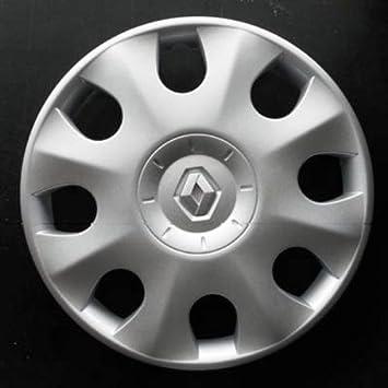 Wheeltrims Set Von 4 New Radzierblenden Für Renault Clio 3 Scenic 2 Megane 2 Megane 3 Modus Laguna 2 Laguna 3 Espace 4 Vel Satis Twingo 2 Kangoo 2 Mit Original Felgen In 38 1 Cm Auto