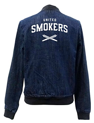 United Smokers Club Bomber Chaqueta Girls Jeans Certified Freak