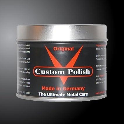 Custom Polish Original 400 g cromo abrillantador cromo aluminio acero inoxidable abrillantador