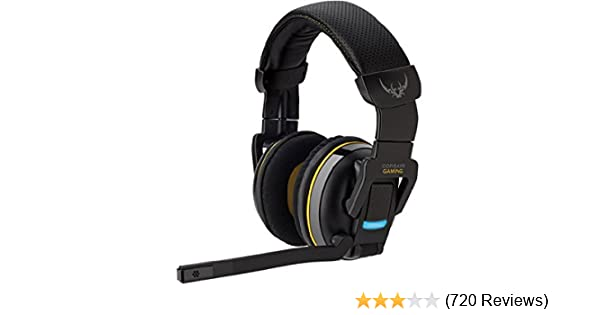 650c35a4204 Amazon.com: Corsair Gaming H2100 Dolby 7.1 Wireless Gaming Headset (CA -9011127-NA): Computers & Accessories