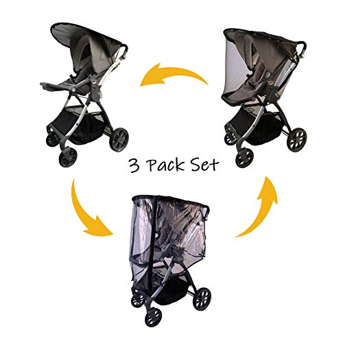 Compare Price To Double Jogger Stroller Sun Shade