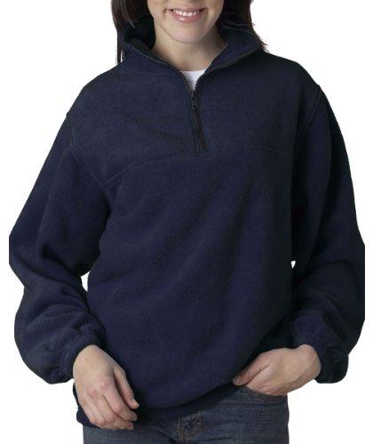 Navy 1/4 Zip Fleece - 5