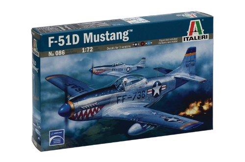 Mustang Moldings - Italeri 1/72 F-51d Mustang # 086