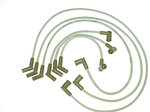 ACCEL 126039 Spark Plug Wire Set 45 Degree Wire Straight Boot 6 Piece Set Spark Plug Wire Set