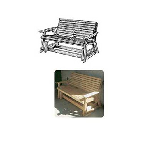 - Woodworking Project Paper Plan to Build Glider Bench