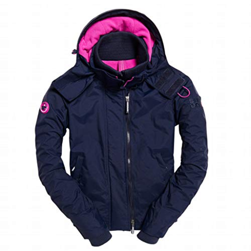 Purple Superdry Para Mujer orchid Navy Chaqueta Ink nqCOqw6Wp