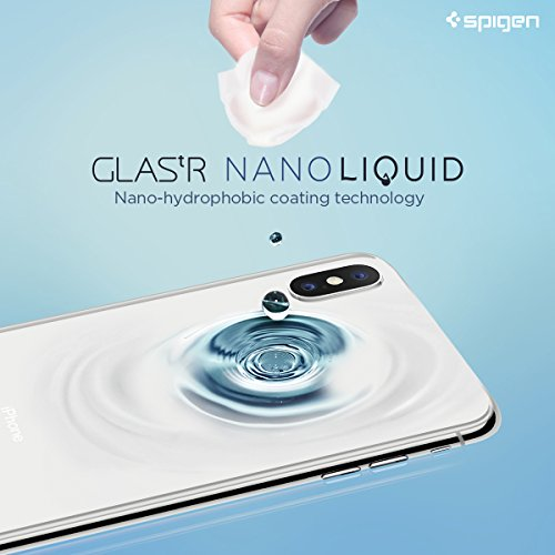 Spigen Glas.tr Nano Liquid Universal Screen Protection - Clear