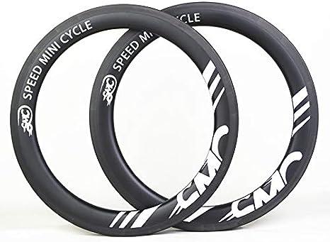 M C S SMC Bike 349 - Llantas de Carbono para Bicicleta Plegable ...