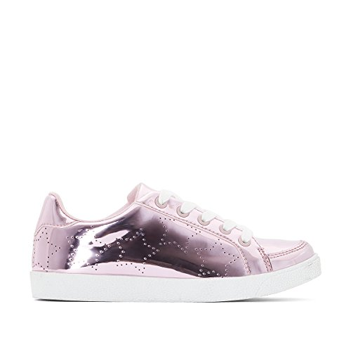 La Redoute Collections Mdchen Sneakers in Metallicoptik mit Perforierten