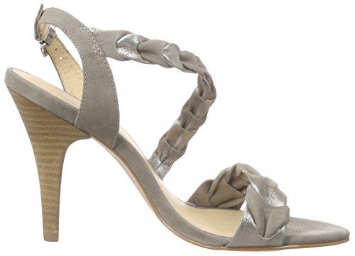 Primafila 42-75525 - Sandalias de tobillo Mujer Gris - Grau (Mouse/Pied Terre)