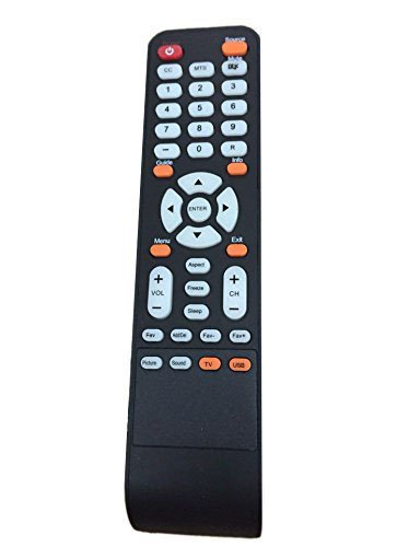 New Replacement Remote Control for SCEPTRE X322BV-HD X325BV-
