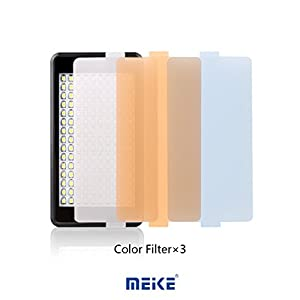Meike S150 Camera Video LED Light 150 PCS Dimmable Lamp with Inbuilt Rechargeable Battery and USB Cable for DV Digital Camera Fit Sony Nikon Canon Fujifilm Olympus Digital Cameras and Smart Phones by MEIKE
