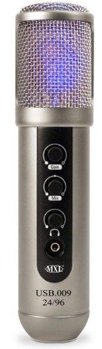 MXL USB 009 24BIT / 96KHZ Micrófono de condensador USB