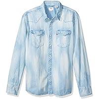 Camisa Jeans Levis Masculino Barstow Western Clara 128f9a4ffa1