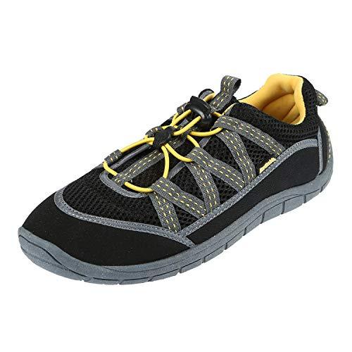 Northside Unisex Brille II Athletic Water Shoe,Black/Yellow,11 M US (Brillen Aus In Einem Tag)