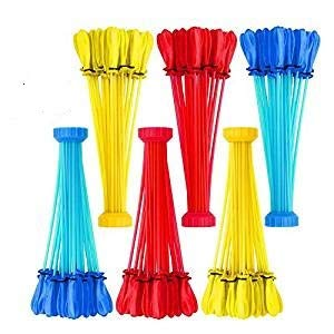 200 Party Pack Bunch O Balloons - 6 Bunches Totals 200 Easy Fill Water Balloons (Colors May Vary) - Fun Toy Gift Party Favors by XShot (Image #1)