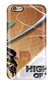 Awesome Highschool Of The Dead Flip Case With Fashion Design For Iphone 6