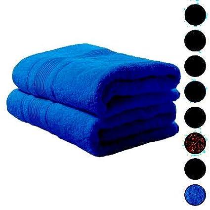 S S - Pack de 2 Toallas de baño Extra Grandes, Toallas de baño 100%