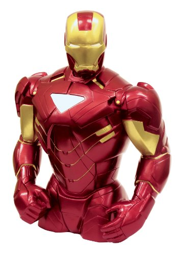 Marvel Iron Man Bust Bank