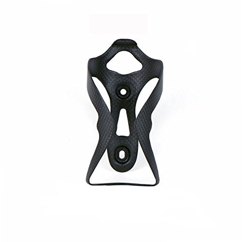 ELITA ONE Water Bottle Cage,Lightweight Full Carbon Fiber Road Mountain MTB Bicycle Cycling Bike Bottle Holder