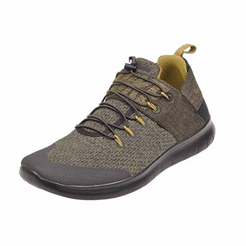 Nike Men's Free RN CMTR 2017 Prem, Black/Desert Moss-Medium Olive Black