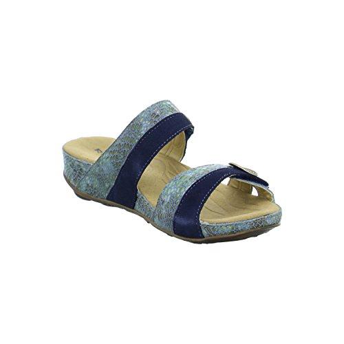 Romika Fidschi 22 Damen Pantoletten Blau