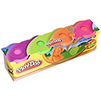 Hasbro Play-Doh: 4-Pack - Neon Colors