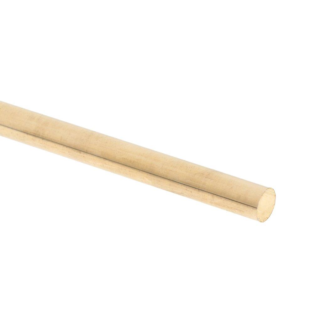 12 mm 9 mm 10 mm 5 mm Barre ronde en laiton massif de 25,4 cm de diam/ètre 4 mm 8 mm 7 mm 6 mm