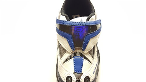 Star Wars Clone Wars/Stride rite Boys Velcro Light-Up Tennis Shoes (Rite Stride Tennis Shoes)