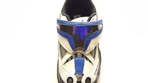 Star Wars Clone Wars/Stride rite Boys Velcro Light-Up Tennis Shoes (Stride Shoes Rite Tennis)