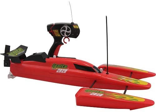 REMOTE CONTROL Ignite Racing 99 Speed Boat - Red or black color sent at random by Cache Sales [並行輸入品]