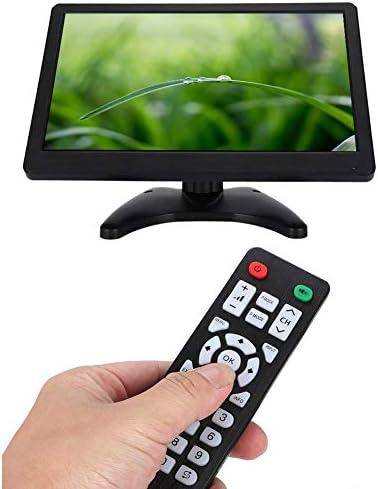 11.6インチモニター ポータブル16:9 1920 x 1080 LCDスクリーンモニター ホームセキュリティー/コンピューターモニター/CCTVモニター/カメラビデオディスプレイ用 HDMI、VGA、BNC、AVをサポート(USプラグ)