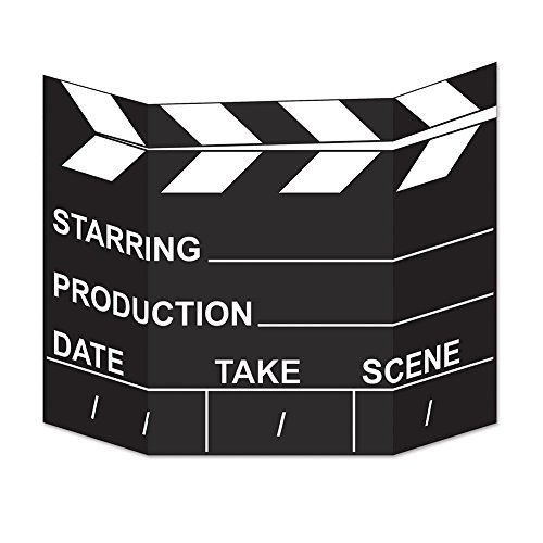 Beistle Movie Set Clapboard Photo - Photo Hollywood Clapboard
