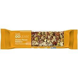Kashi GoLean Honey Pecan Balkava Plant Powered Bars 1.59 ozx12 bars