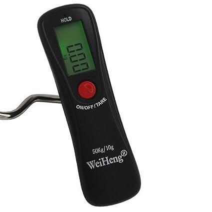 Marca Pantalla Digital de 50 kg/10g Báscula electrónica portátil para Pesca Pesca Tackle Herramienta