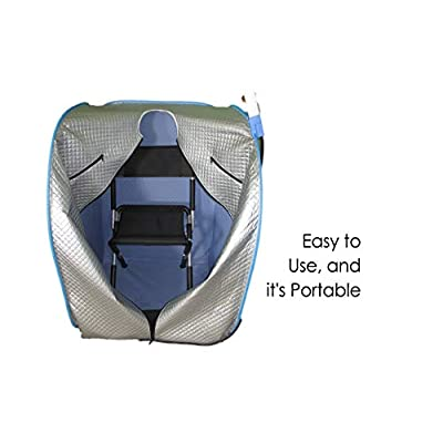 Far Infrared Relax Sauna, Amazing Long Term Health Benefits, NEW. With Sauna Chair Included. SAFELY ships during the Crisis : Garden & Outdoor