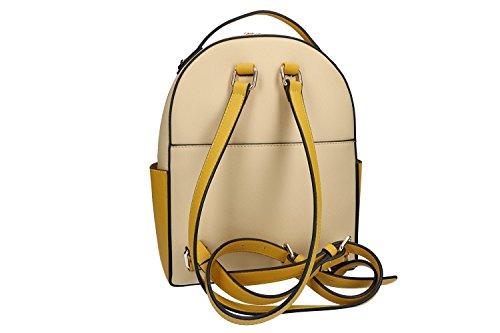 Tasche damen rucksack schulter PIERRE CARDIN beige mit offnung zip VN1862