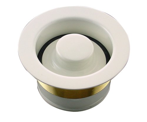 (Mr. Scrappy CSFS-BS-93 Custom Color Sink Flange and Stopper Set, Biscuit)