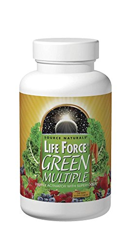 Life Force Green Multiple Source Naturals, Inc. 180 Tabs